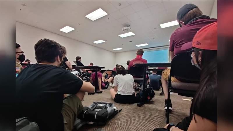 Concerns over classroom capacity at Virginia Tech