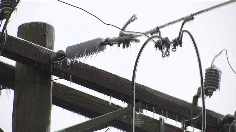 Ice storm knocks out power for thousands in Danville