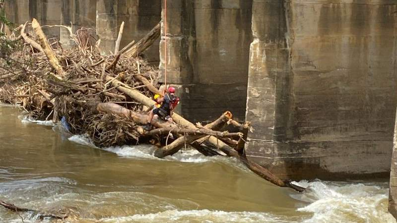 Two rescued from Dan River on Saturday