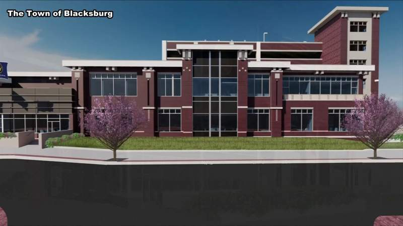 Construction underway for new Blacksburg Police Department building