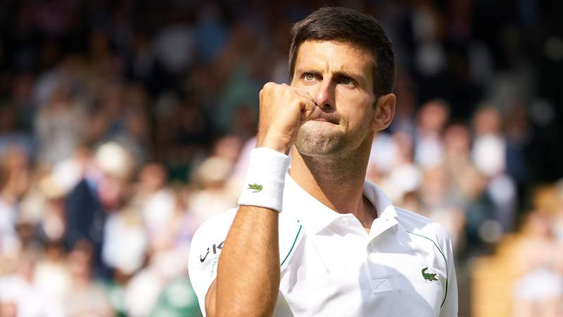 With his win at Wimbledon last weekend, Novak Djokovic tied Roger Federer and Rafael Nadal's men's record of 20 Grand Slam titles.