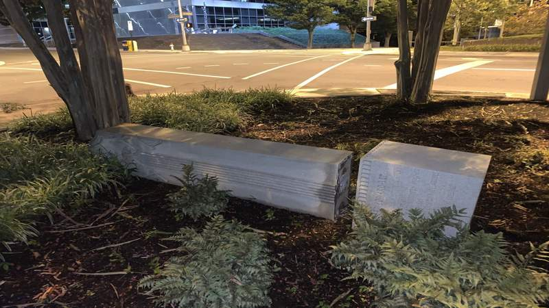 Man charged with damaging Roanoke Confederate monument