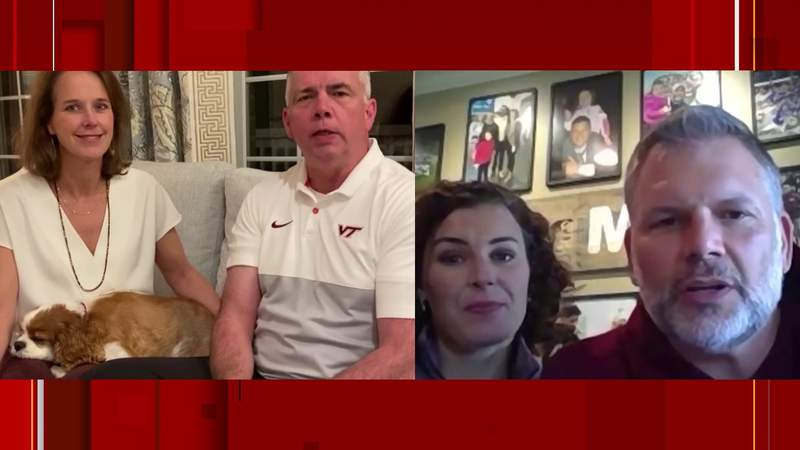 Virginia Tech coaches, wives donate to Carilion fund