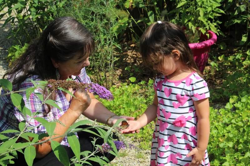 Learning at Beagle Ridge Herb Farm.