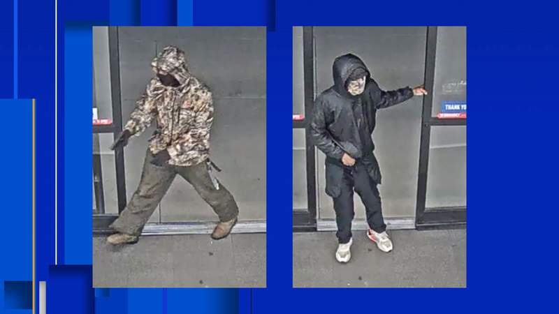 These two men are persons of interest in this case.