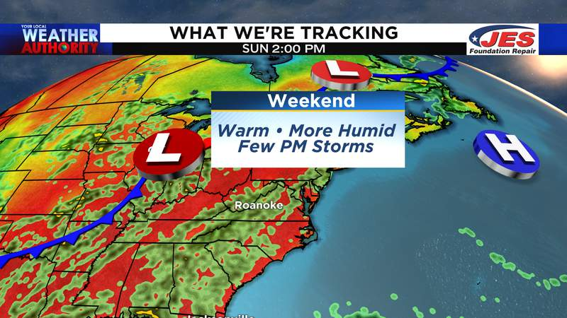 What we're tracking for the first weekend of summer - 2021
