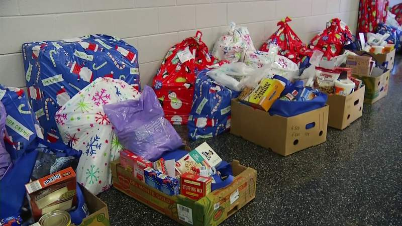 Franklin County Christmas drive by local authorities
