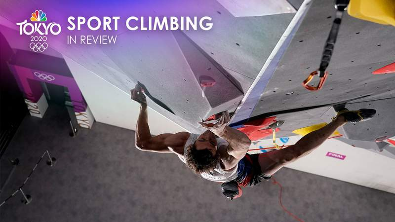 Relive the top moments of sport climbing at the Tokyo Olympic Games.