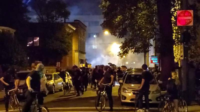 Richmond mayor: White supremacists started riot at police HQ