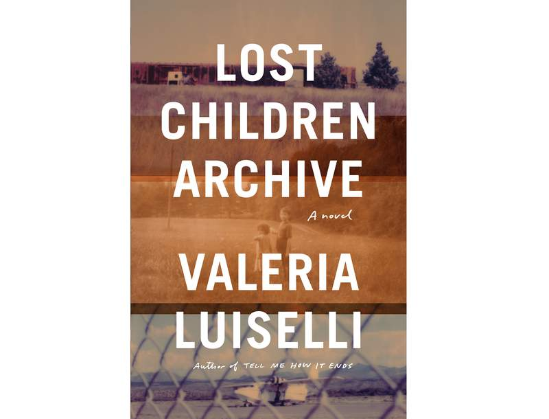 """This cover image released by Knopf shows """"Lost Children Archive,"""" a novel by Valeria Luiselli. The book tells the story of young immigrants separated from their families. Luisellis novel won the Rathbones Folio Prize for literature on Monday at a ceremony held online because of the coronavirus pandemic. (Knopf via AP)"""