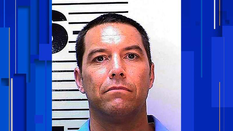 FILE PHOTO: This May 11, 2018 photo from the California Department of Corrections and Rehabilitation shows Scott Peterson. Northern California prosecutors said Friday, Oct. 23, 2020 they will again seek the death penalty for Peterson in the slaying of his pregnant wife and unborn son nearly 19 years ago, even as a county judge considers throwing out his underlying conviction because of a tainted juror. Stanislaus County District Attorney Birgit Fladager acted after the California Supreme Court in August overturned Peterson's 2005 death sentence in a case that attracted worldwide attention. (California Department of Corrections and Rehabilitation via AP)