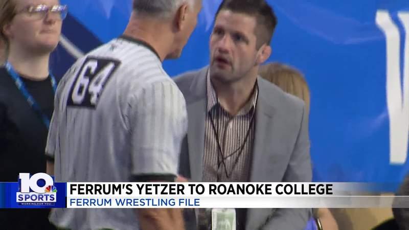 Ferrum's Nate Yetzer to Roanoke College