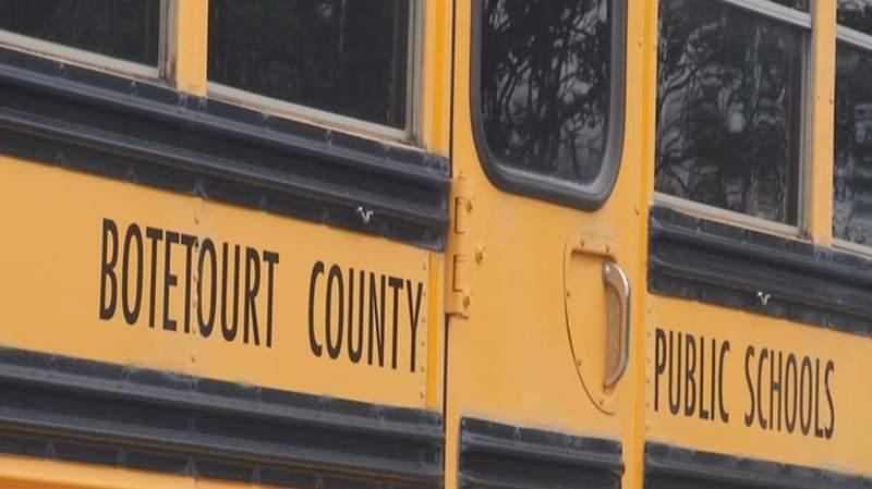 Botetourt County Public Schools bus