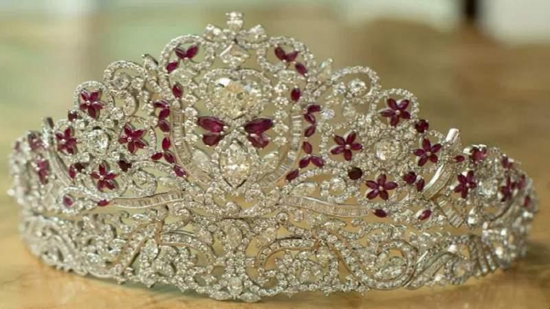 The Hope Tiara. Courtesy: Gianni Vincent Jewelers