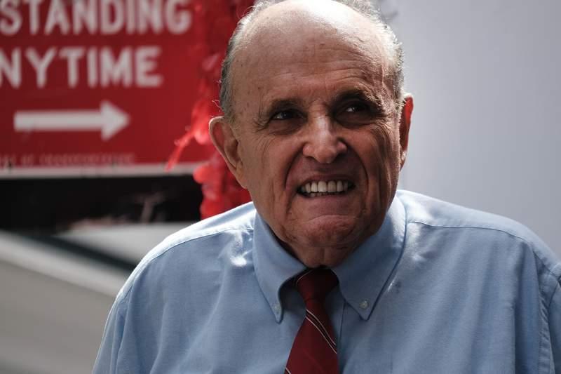 Former New York City Mayor Rudy Giuliani  (Photo by Spencer Platt/Getty Images)