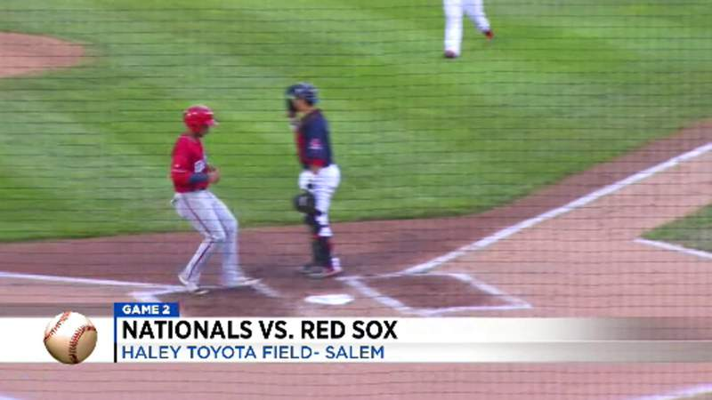 Salem Red Sox split double header with Fredericksburg