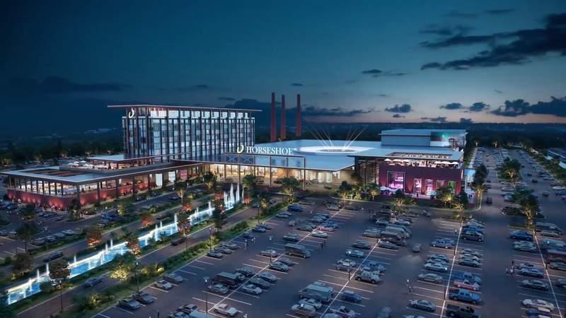 Artistic rendering of Danville's possible casino