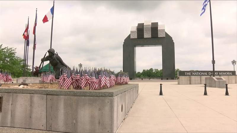 National D-Day Memorial reopening