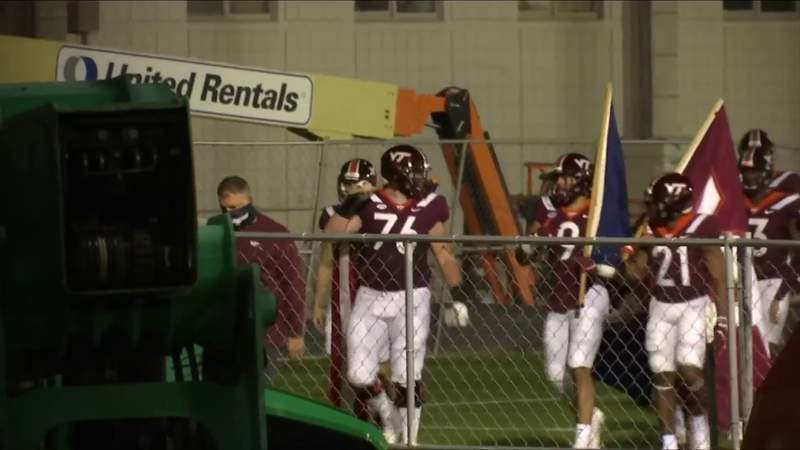 Some COVID-19 rules in place for Virginia Tech football game