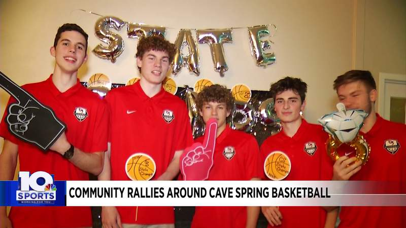 Community honors Cave Spring boys basketball title