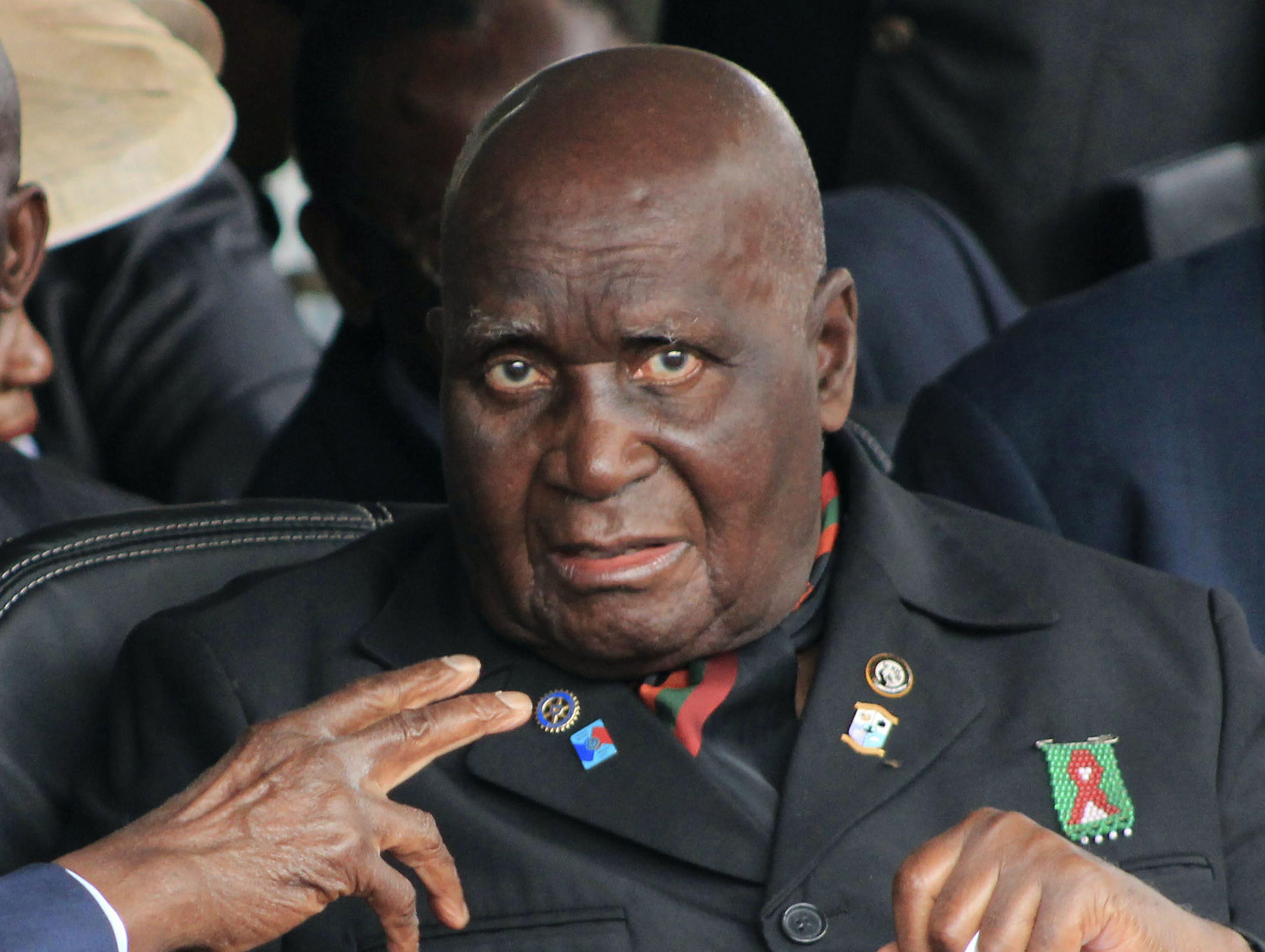 Zambia's Kenneth Kaunda, 97, hospitalized amid virus surgeNoel Sichalwe, Associated Press