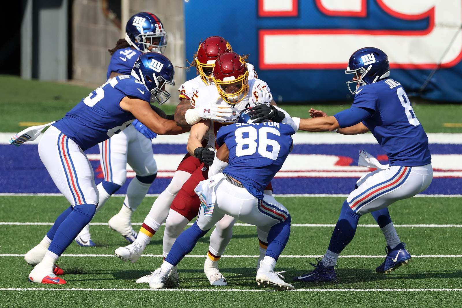 Washington Football Team Loses To New York Giants 20 19