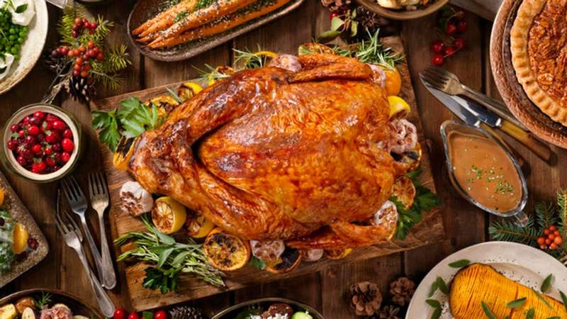 You can buy your Thanksgiving meal to-go from The Hotel Roanoke
