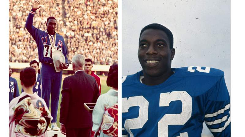 Former Olympian and NFL star Bob Hayes.