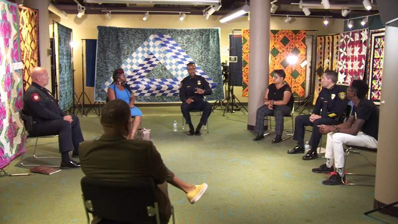 Police chiefs, community come together to talk race