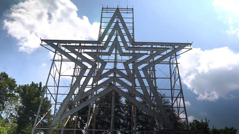 Roanoke Star stands as a regional icon, popular tourist attraction