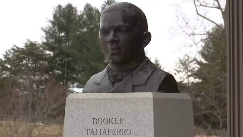 Push for Booker T. Washington statue