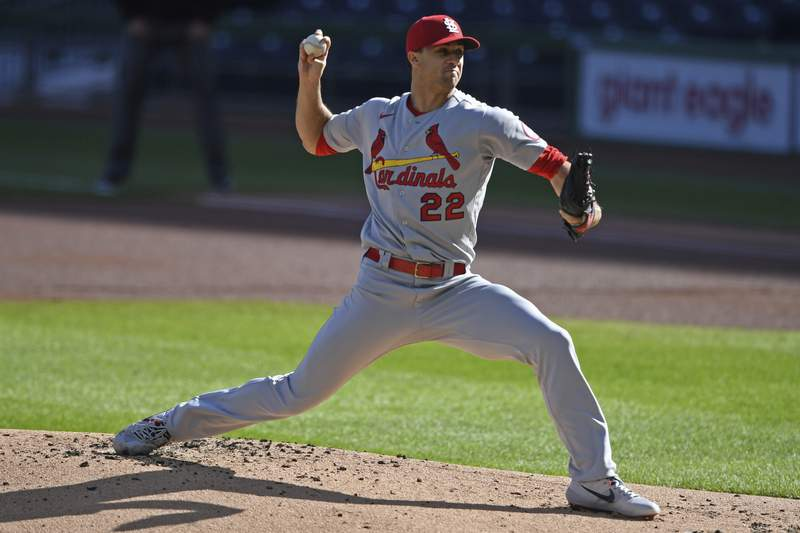 St. Louis Cardinals starting pitcher Jack Flaherty delivers during first inning of a baseball game against the Pittsburgh Pirates, Sunday, Sept. 20, 2020, in Pittsburgh. (AP Photo/David Dermer) Pennsylvania
