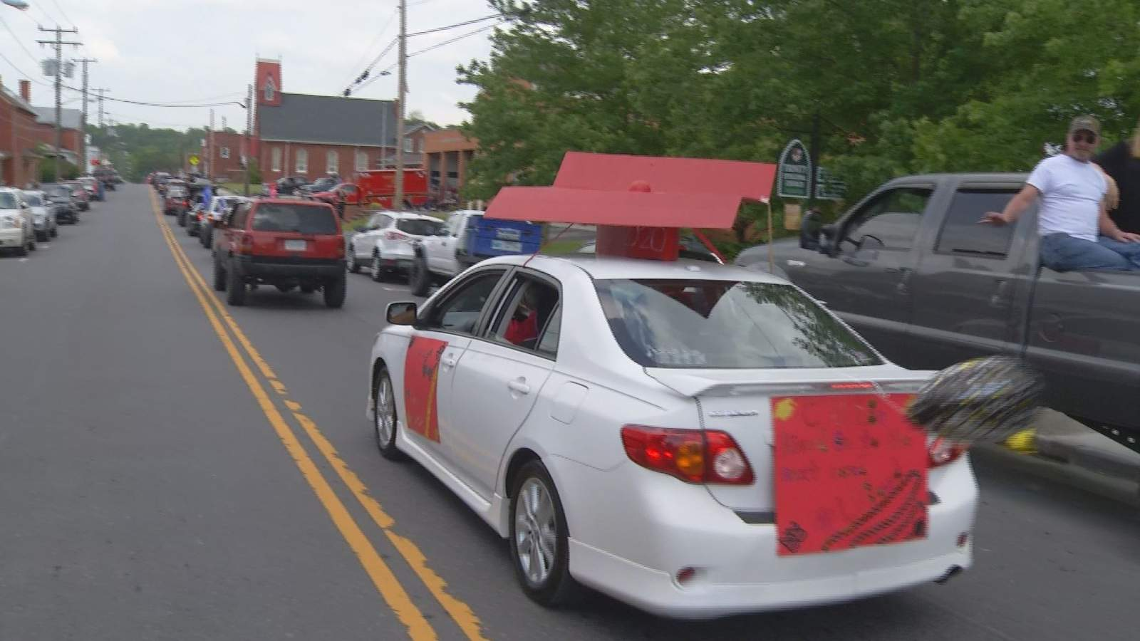 Buchanan Va Christmas Parade 2020 Botetourt County's Class of 2020 honored with parades for high