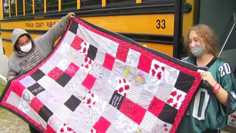 Bus driver honors life of former Franklin County student