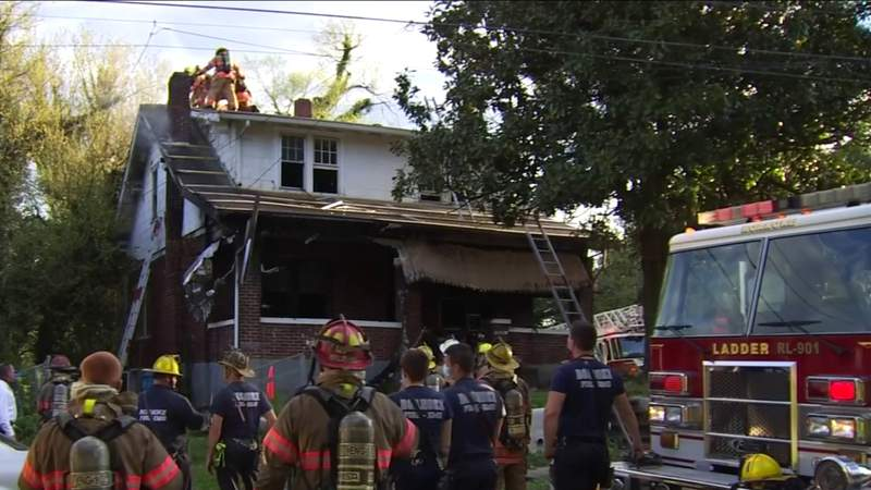1 person seriously hurt after house fire