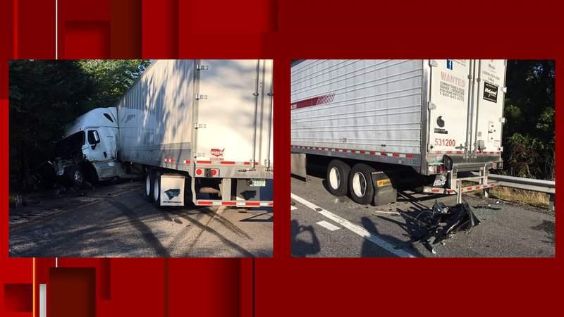 Deadly crash on Interstate 81 on July 29, 2020.