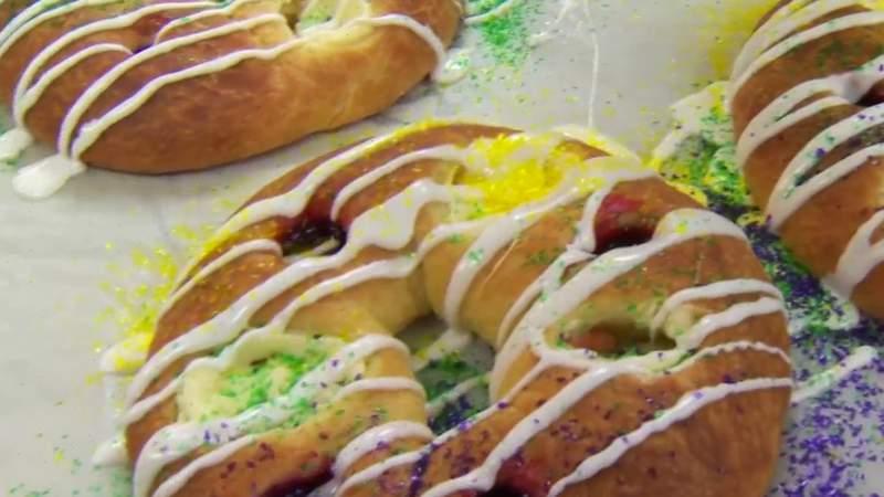 Celebrate Mardi Gras with locally made King Cakes