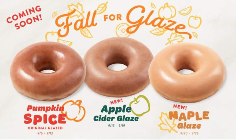 Krispy Kreme announces three new doughnut flavors