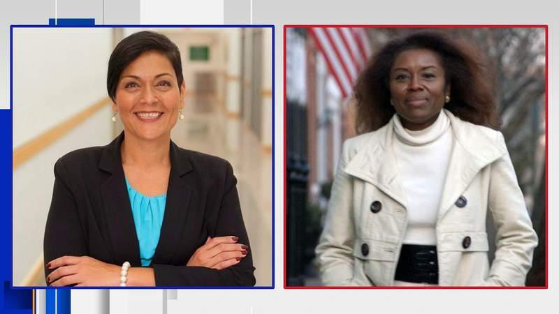 Virginia's 2021 lieutenant governor candidates Hala Ayala and Winsome Sears