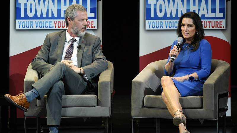 Former Liberty University students alleges sexual encounter with Becki Falwell
