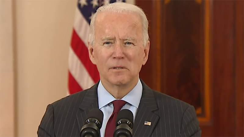 President Joe Biden spoke on COVID-19 deaths across the United States.