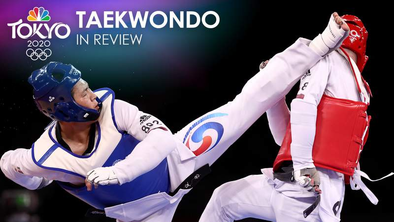 The Russian Olympic Committee topped the taekwondo medal chart with four total.