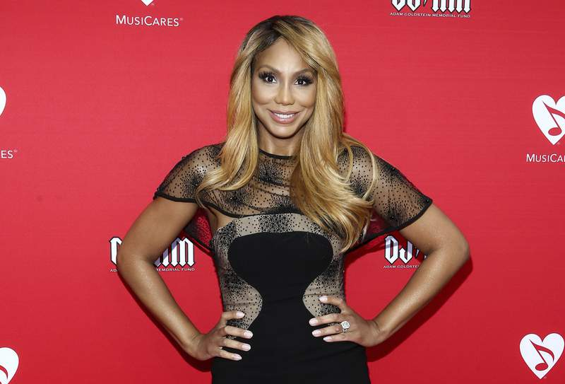 FILE - In this May 19, 2016, file photo, Tamar Braxton attends the 12th annual MusiCares MAP Fund Benefit Concert in Los Angeles. WE tv says it will honor Braxtons request to end future work together, but the network expects to premiere the singers reality show next month. Her reality series called Tamar Braxton: Get Ya Life! was expected to premiere last week, but has been postponed to Sept. 10. (Photo by John Salangsang/Invision/AP, File)