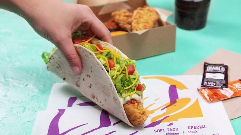 GF Default - Taco Bell introduces crispy chicken tortilla