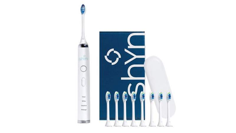 Remove plaque with ease thanks to the Shyn Sonic Electric Toothbrush