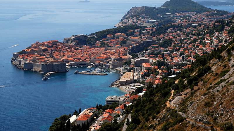 """The city of Dubrovnik in Croatia was the shooting location depicting the planet Canto Bight in the movie """"The Last Jedi.""""  (Photo by Dominik Bindl)"""