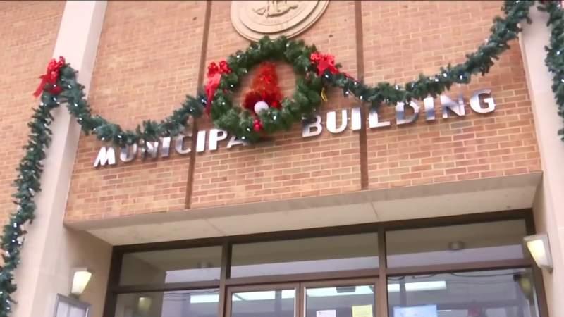 Pulaski Police protect presents at station