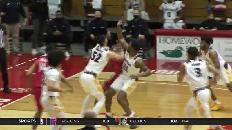 Winthrop at Radford Men's Basketball