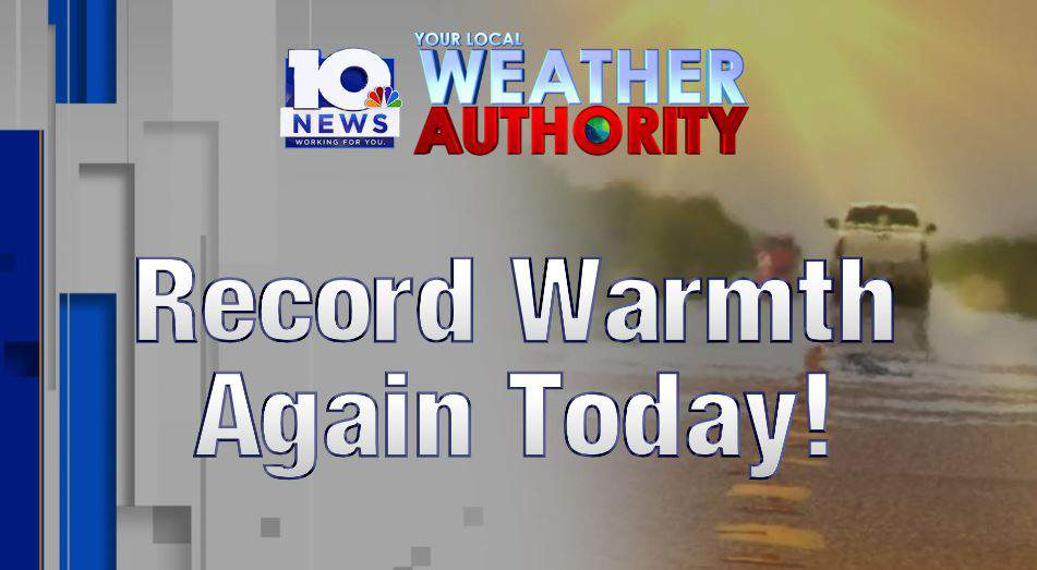 Another day of record breaking heat