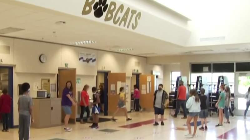 Students return to Radford classrooms